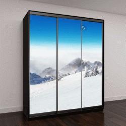 """Шкаф купе с фотопечатью """"красивый альпийский пейзаж"""""""