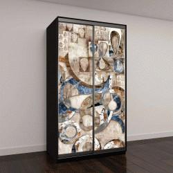 """Шкаф купе с фотопечатью """"Абстрактное искусство"""""""