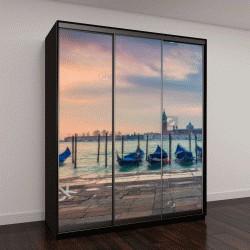 """Шкаф купе с фотопечатью """"Венеция, панорама"""""""