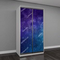 """Шкаф купе с фотопечатью """"Вселенная и звезды, туманности и галактики"""""""