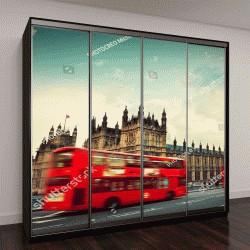 """Шкаф купе с фотопечатью """"Лондон, Великобритания"""""""