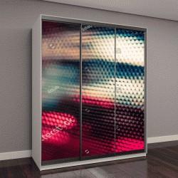 """Шкаф купе с фотопечатью """"абстрактный фон с расфокусированными огнями и тенями"""""""