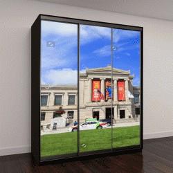 """Шкаф купе с фотопечатью """"Музей изящных искусств в Бостоне"""""""