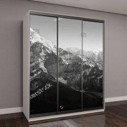 """Шкаф купе с фотопечатью """"Живописные горные пейзажи, базовый лагерь Эвереста """""""