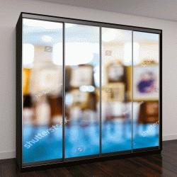 """Шкаф купе с фотопечатью """"Абстрактные шедевры в картинной галерее, выставки"""""""