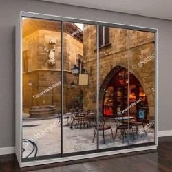 """Шкаф купе с фотопечатью """"традиционная архитектура в Барселоне, Испания"""""""