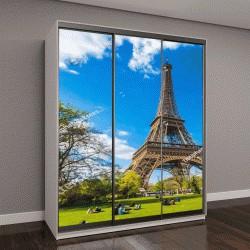"Шкаф купе с фотопечатью ""Эйфелева башня, символ Парижа"""