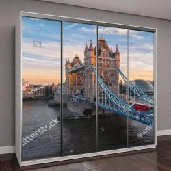 """Шкаф купе с фотопечатью """"Тауэрский мост в Лондоне, Великобритания"""""""