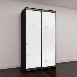 """Шкаф купе с фотопечатью """"белый и серый абстрактный фон"""""""