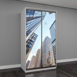 """Шкаф купе с фотопечатью """"Нью-Йорк, небоскребы, США"""""""