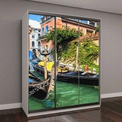 """Шкаф купе с фотопечатью """"Венеция, панорама """""""