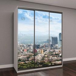 """Шкаф купе с фотопечатью """"Мехико, панорамный вид на центр города"""""""