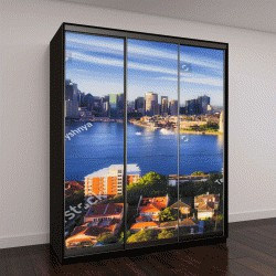 """Шкаф купе с фотопечатью """"яркий солнечный день, Сидней, Австралия"""""""