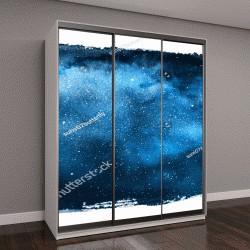 """Шкаф купе с фотопечатью """"Ночное небо со звездами"""""""