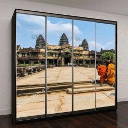 """Шкаф купе с фотопечатью """"вид на Ангкор-Ват, храмовый комплекс в Камбодже"""""""