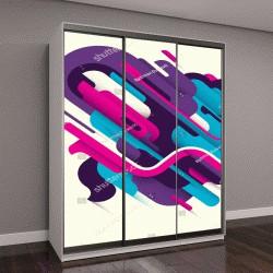 """Шкаф купе с фотопечатью """"Концептуальный стиль, иллюстрации с абстракцией"""""""