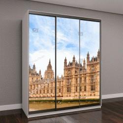 """Шкаф купе с фотопечатью """"Здание парламента и Биг Бен в Лондоне"""""""