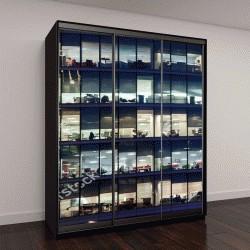 """Шкаф купе с фотопечатью """"корпоративное здание в лондонском Сити, Англия"""""""