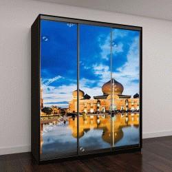 """Шкаф купе с фотопечатью """"Мечеть Ан-Нуур,  Индонезия"""""""